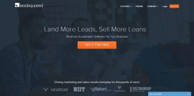 landing page optimization - homepage version 1