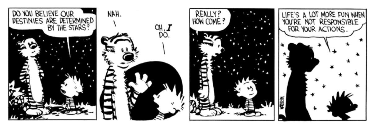 Calvin and Hobbes - sales responsibility - what is a lead