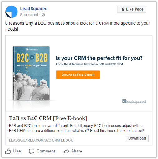 Facebook Lead Ads - e book