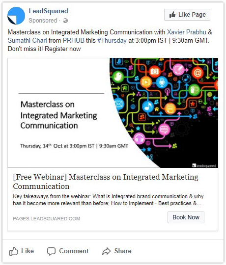 Facebook Lead Ads - webinar