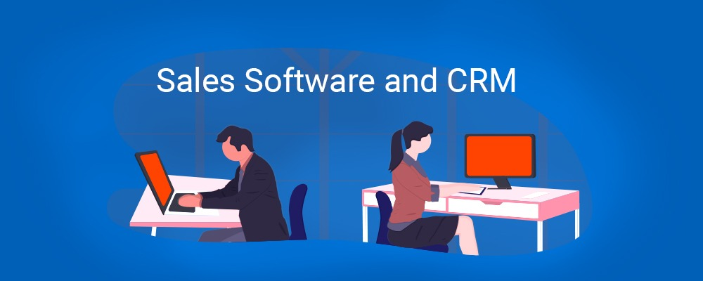 Sales software and CRM - Banner