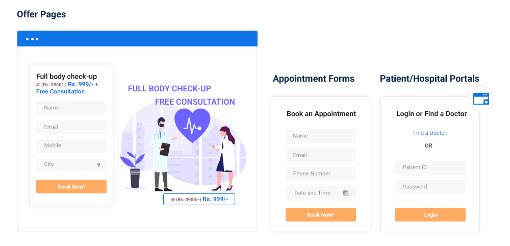 Build or Integrate Appointment Forms