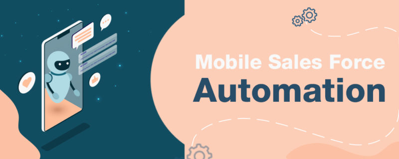 Mobile sales force automation - banner