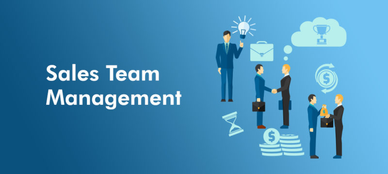 Sales team management - banner