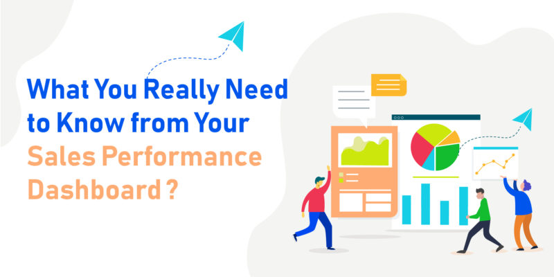 sales performance dashboard - banner